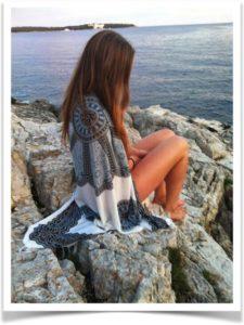 Полотенце-покрывало для пляжа