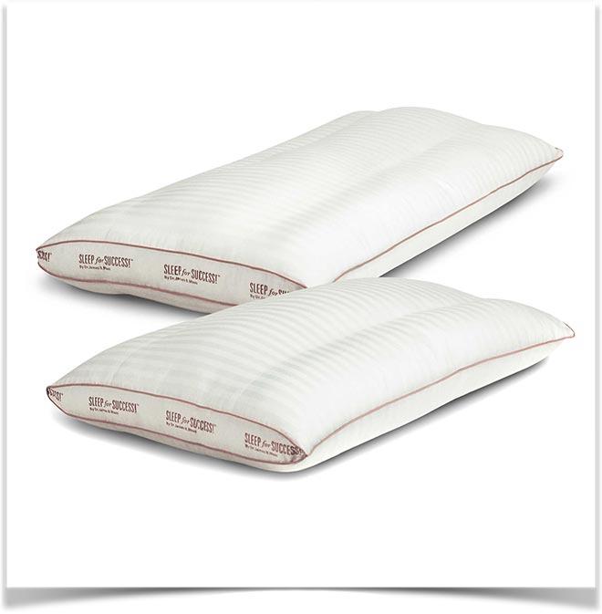 Две эргономичные подушки