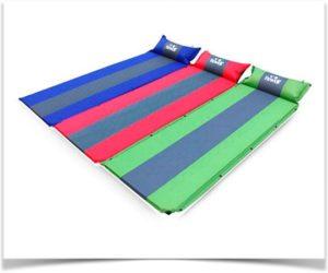 Матрас для пляжа с надувающейся подушкой