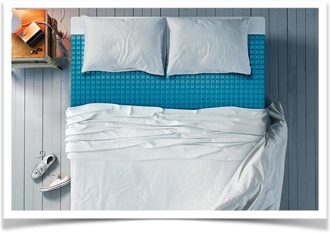 Кровать с гелевым матрасом