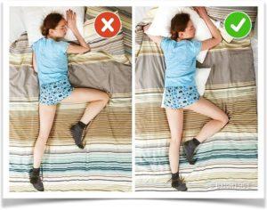 Как правильно спать на животе женщине