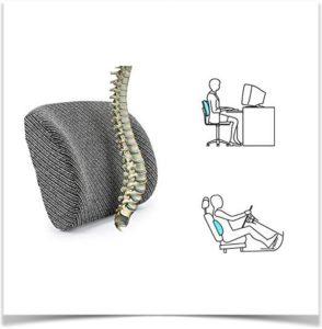 Правильная подушка для сидения под позвоночник