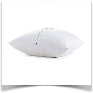 Белая подушка классика
