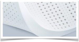 Белый перфорированный латекс