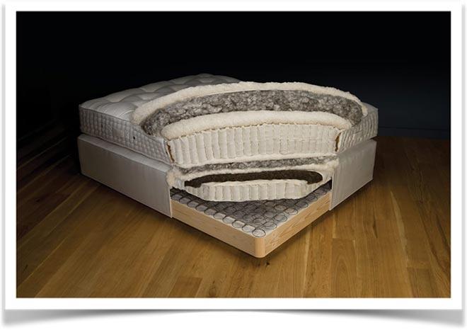 Как выглядит наполнение большого матраса-кровать