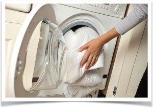 Наматрасник в стиральной машине