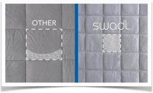 Кармашки для утяжеления одеяла с разным количеством наполнителя