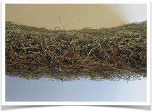 Материал латексированный кокосовый