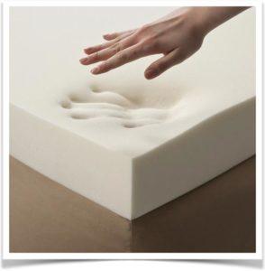 Матрериал memory foam (мемори форм)