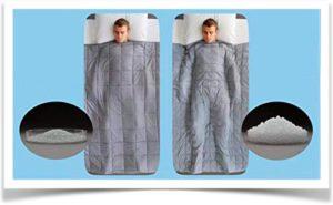 Два одеяла с разным количеством утяжелительных гранул