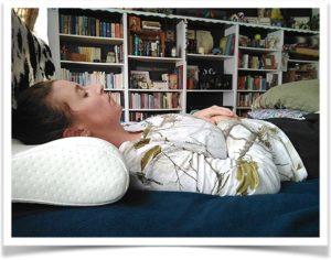Отдых на ортопедической подушке