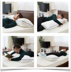 Как пользоваться подушкой бревном