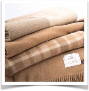 Тканые одеяла из шерсти верблюда