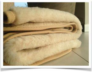 Меховое одеяло из шерсти верблюда