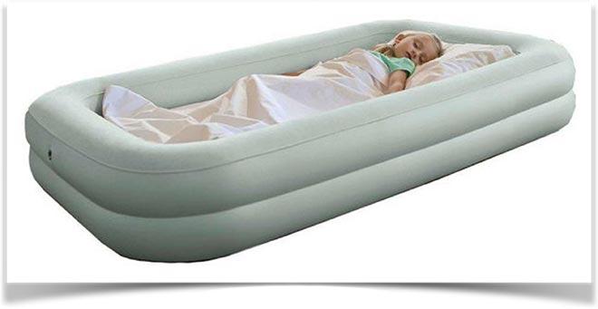 Надувная кровать для детей